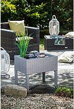 Heissner Terrassen Hochteich mit Wasserspiel, grau