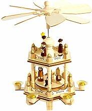 HEITMANN DECO Holz-Pyramide, Weihnachtspyramide,