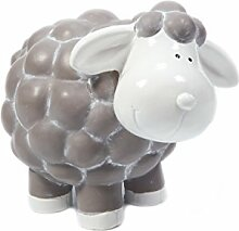 Heitmann Deco - Keramik-Schaf als Dekoration für