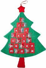 Heitmann Deco Tannenbaum Adventskalender zum