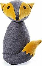 Heitmann Deco Türstopper Fuchs - grau-gelb - aus