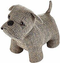 Heitmann Deco Türstopper Hund - Mops - braun -