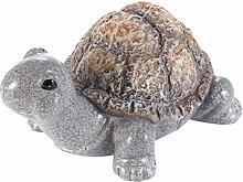 Heitmann Deko - nette Schildkröte aus Keramik - Deko für Garten und Haus- für Tischdeko, Wohnzimmer und Kommode