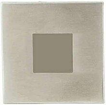 Heitronic 0,3W Quadratische LED-Einbaustrahler,