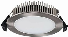Heitronic 13-W-LED-Downlight, rund, Farbtemperatur