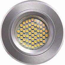 Heitronic 23960 E, Einbauleuchte, Aluminium, 35 W, GU5.3