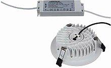 Heitronic 25-W-LED-Downlight, rund, Farbtemperatur