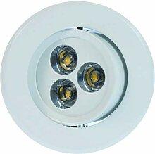 Heitronic 3000 Kelvin LED Einbaustrahler London