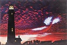 Heitronic 34038 A, Leuchtbild, Holz, bunt, 1,5 x