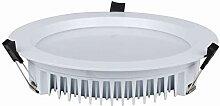 Heitronic 35-W-LED-Downlight, rund, Farbtemperatur
