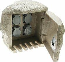 Heitronic 4-fach Energieverteiler STEIN für