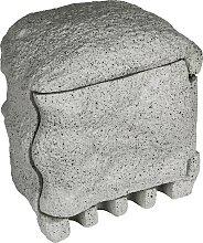 HEITRONIC Gartensteckdose Piedra, 4-fach,