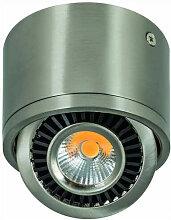 Heitronic LED Aufbaustrahler Edelstahl 7 Watt