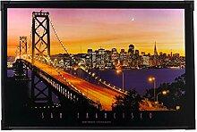 Heitronic LED Leuchtbild San Francisco,