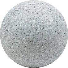 HEITRONIC Leuchtkugel MUNDAN granit 200mm