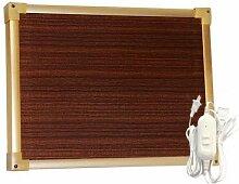 Heizkissen,beheizte tafel,elektrischer fußwärmer wärmekissen mit 2 temperaturstufen,42*32cm , brown