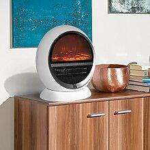 Heizlüfter Elektrischer Kamin Tischkamin Heizung Ofen Kaminofen Heizstrahler Feuereffekt Wärme Überhitzungsschutz sicher und sauber 1500 Wa