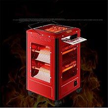 Heizlüfter Grill Heizung Heizung Grill Typ Home Dämpfer Vier kleine Sonnenofen Elektroheizung , red , big