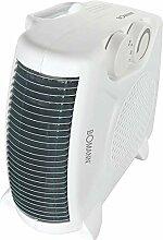 Heizlüfter mit regelbaren Thermostat Ventilator Heizgerät Elektroheizer 2 Heizstufen für Innen und Außen (leistungsstarke 2000 Watt + Überhitzungsschutz)