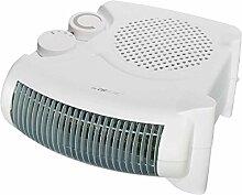 Heizlüfter mit regelbaren Thermostat Ventilator Heizgerät Elektroheizer 2 Heizstufen (leistungsstarke 2000 Watt + Überhitzungsschutz)