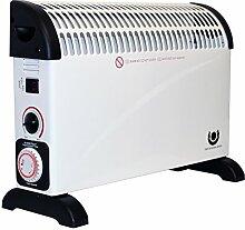 Heizstrahler mit Frostwächter 24 Stunden Zeitschaltuhr 2000W Konvektor Heizer Radiator Heater Elektro Elektrische Heizung Elektroheizung