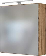 Held Möbel Davos Spiegelschrank 60 cm