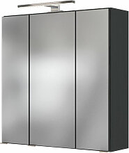 Held Möbel Genua Spiegelschrank 60 cm