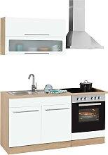 HELD MÖBEL Küchenzeile Eton, mit E-Geräten,