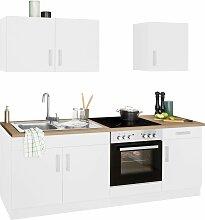 HELD MÖBEL Küchenzeile Gera, mit E-Geräten,