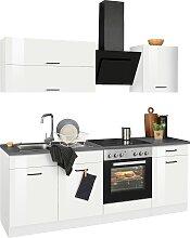 HELD MÖBEL Küchenzeile Trier, mit E-Geräten,