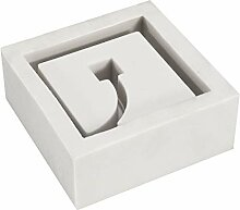 HELEISH Silikon Beton Blumentopf Form 3D