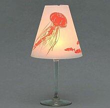 Helene am Meer · 3 Weinglas Lampenschirme · zum