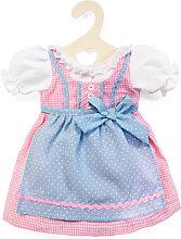 Heless Kleidungsset Dirndl Kleid 35 - 45 cm