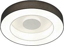 Helestra LED-DECKENLEUCHTE , Anthrazit, Weiß,
