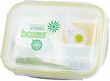 heliltd Brotdose mit 3 Fächern Kids Bento Lunch
