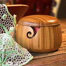 heling896 Bambuswolle Aufbewahrungsschüssel Wolle
