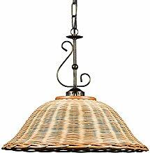 Helios Leuchten 2020710 Deckenlampe Korblampe