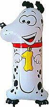 Helium-Ballon Tierische Zahl 1 Dalmatiner