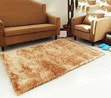 Heller Draht Teppich Teppich Kaffetisch Teppich Wohnzimmer Schlafzimmer Küche Teppich Heiratsraum Hotel Teppich , camel , 1.2*1.7cm
