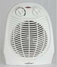 Heller Heizlüfter HL 801Flur 2000W grau, weiß Ventilator (Ventilator, grau, weiß, 230V, 2000W, 1000W, Flur)