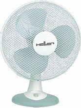 Heller TWV 436 50W Grau, Weiß Ventilator - Ventilatoren (Grau, Weiß, 50 W)