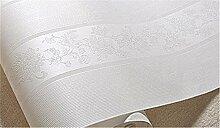 Hellgrau Luxus europäischen Vliestapete Streifen Tapete Schlafzimmer Wohnzimmer TV Hintergrund Wand Papier