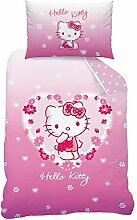 Hello Kitty 044184 Bettwäsche Adeline, Baumwolle