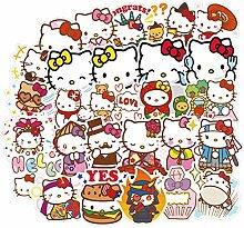 Hello Kitty Aufkleber für Wasserflasche, 100