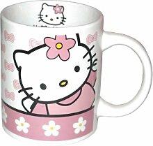 Hello Kitty Becher mit seiner Geschenkbox