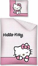 Hello Kitty Bettwäsche, Wendebettwäsche 140x200