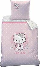 Hello Kitty Cerisier Bettwäsche-Set, Baumwolle,