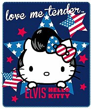 Hello Kitty - Elvis - Polar Fleecedecke 120x140cm