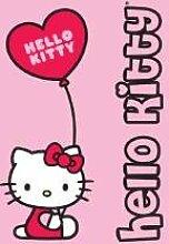 Hello Kitty Fleecedecke Ballon 107HK009 Grösse