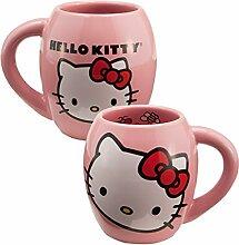 Hello Kitty Kaffeebecher Keramik oval Tasse 18oz
